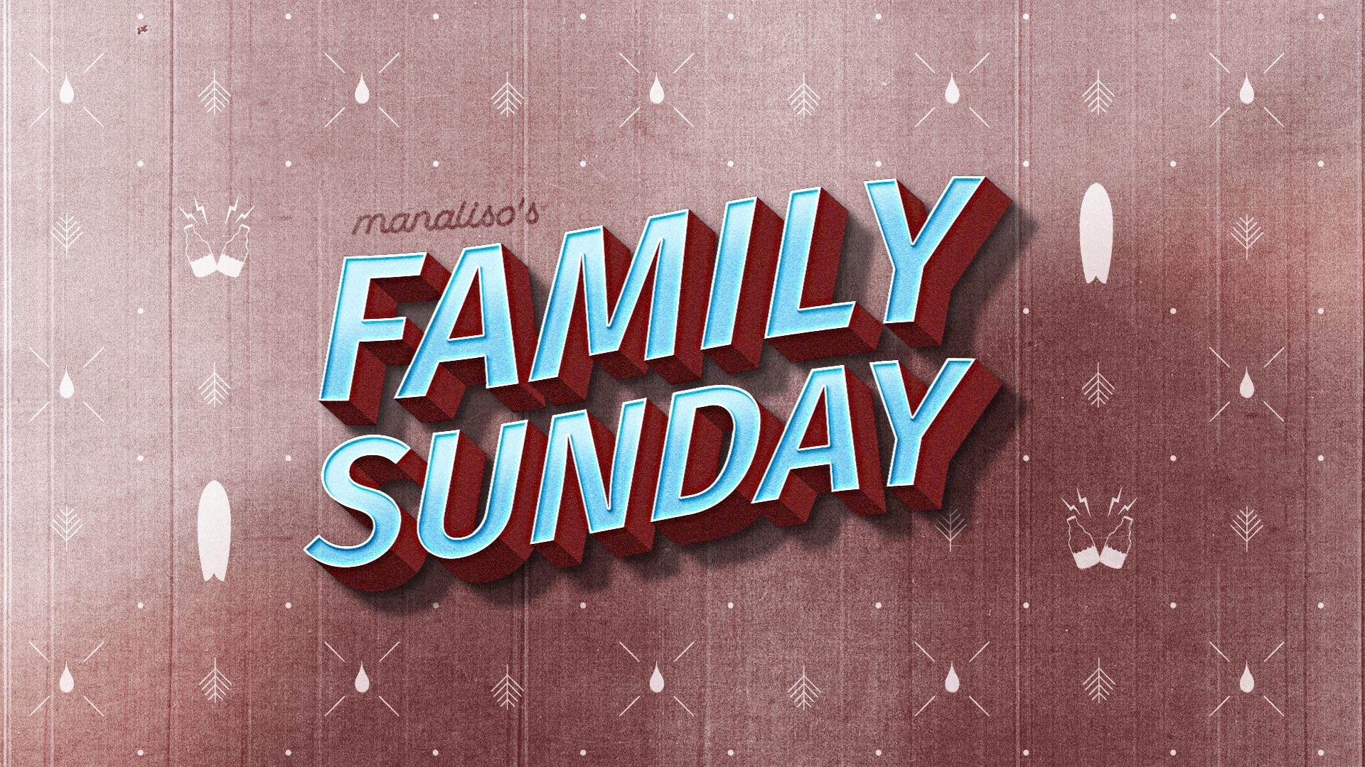 Manaliso`s family sunday